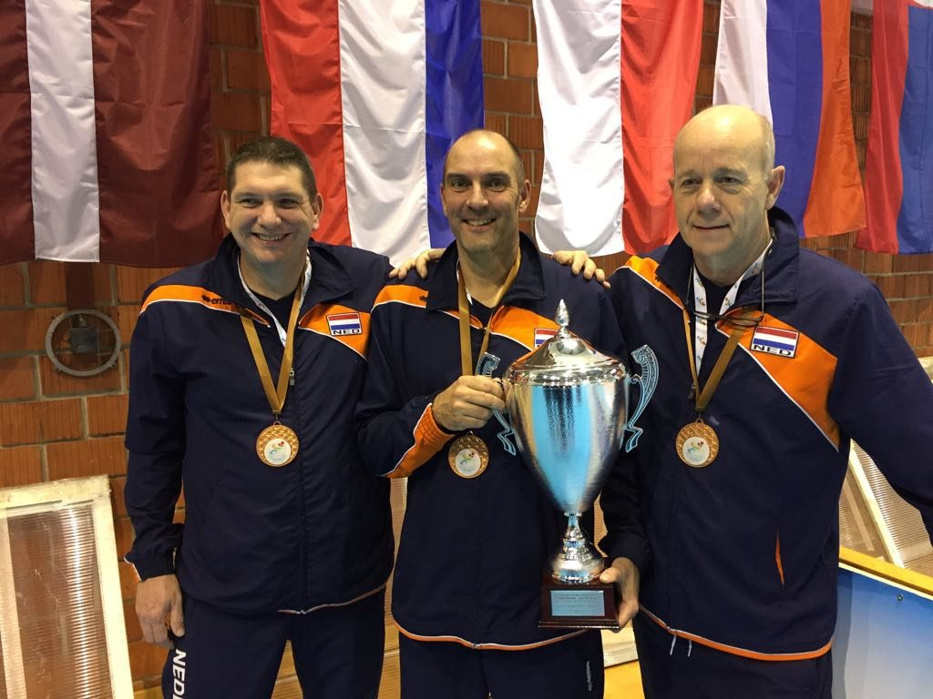 zitvolleybal brons